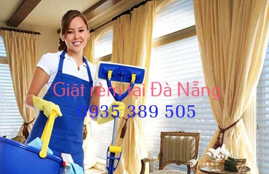 Giặt rèm tại Đà Nẵng - Dịch vụ giặt rèm cửa Như Minh