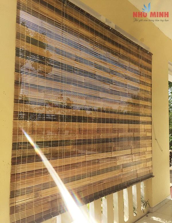 Thi công rèm tre tại Đà Nẵng - Mẫu rèm tre siêu bền Như Minh