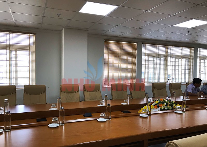 Rèm gỗ văn phòng tại Đà Nẵng - Thi công rèm gỗ tự nhiên