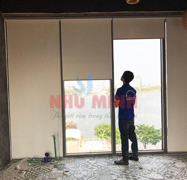 Rèm cuốn văn phòng Đà Nẵng - Rèm cuốn Như Minh mã Rc005