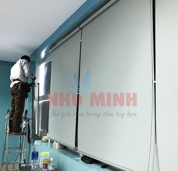 Công trình rèm cuốn và rèm vải y tế lắp tại Bệnh Viện Ung Bứu Đà Nẵng