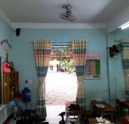 Công trình rèm vải tại trường tiểu học Mai Đăng Chơn - 218 Nguyễn Duy Trinh