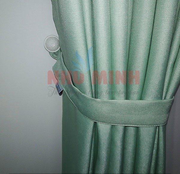Rèm vải màu xanh ngọc Như Minh - mã A18-37