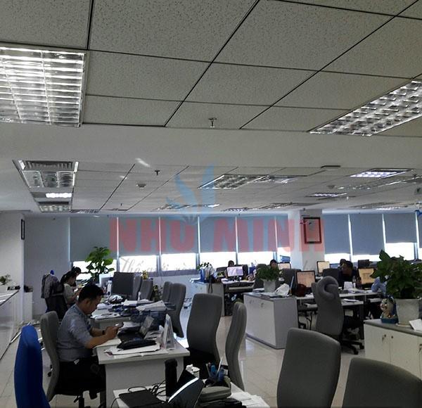 Công trình lắp rèm cuốn cản sáng 100% tại văn phòng Daikin chi nhánh Đà Nẵng