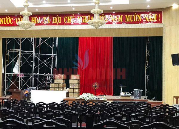 Rèm hội trường tự động tại Đà Nẵng