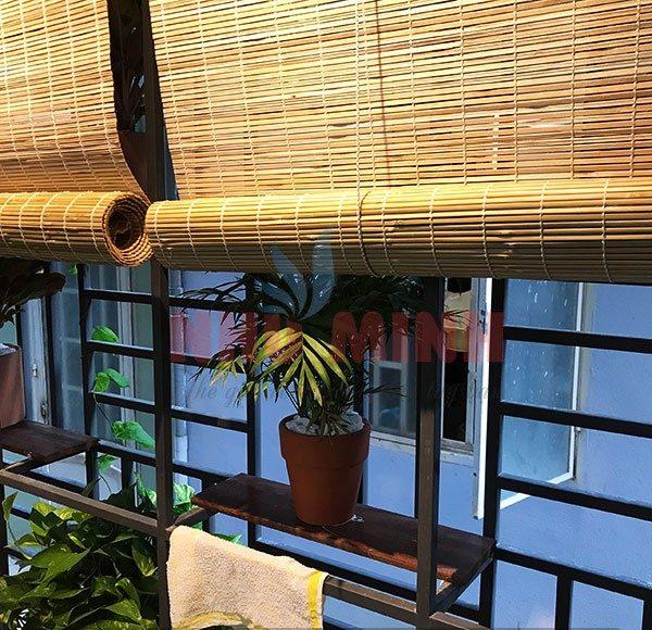 Rèm trúc lắp ngoài trời tại Đà Nẵng - Mành trúc cật
