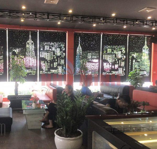 Rèm cuốn cắt laser tại Đà Nẵng - Loại rèm cuốn mới nhất