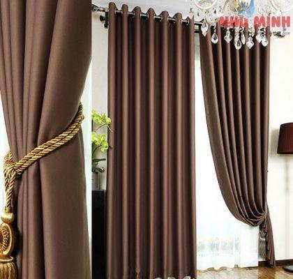 Rèm vải kết hợp với rèm cầu vồng là xu thế chọn rèm cho nhà ở hiện nay