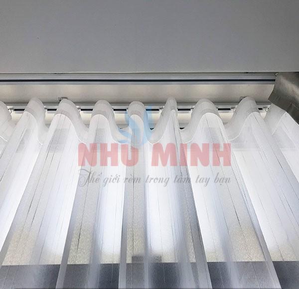 Thi công rèm vải tại căn hộ cao cấp Monarchy Đà Nẵng