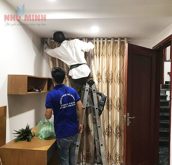 Thi công rèm cửa nhà ở tại Đà Nẵng - Công trình rèm vải tại Hải Châu