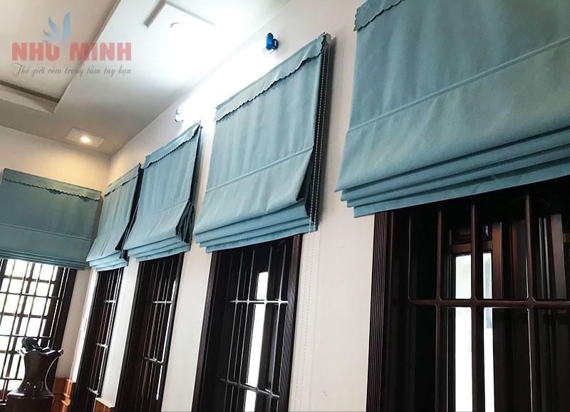 Rèm cửa nhà biệt thự tại Đà Nẵng