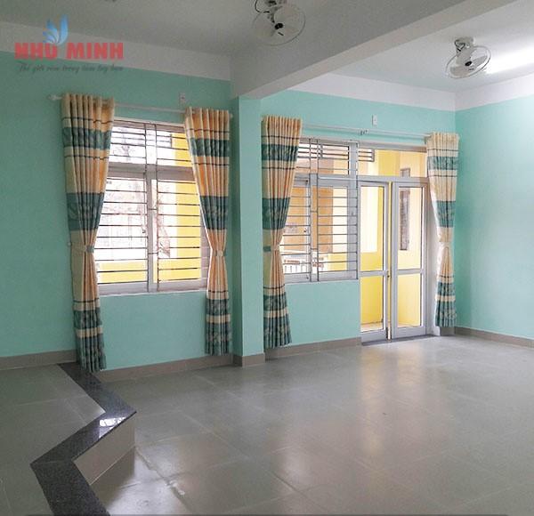 Rèm vải trường học tại Đà Nẵng - Như Minh chuyên thi công rèm vải cho cơ quan, trường học.