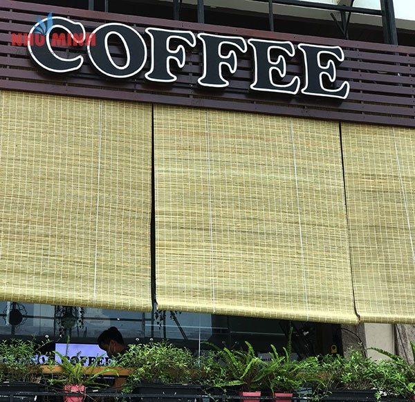 Cảm ơn thương hiệu cà phê Milano đã tin dùng sản phẩm rèm trúc Như Minh.