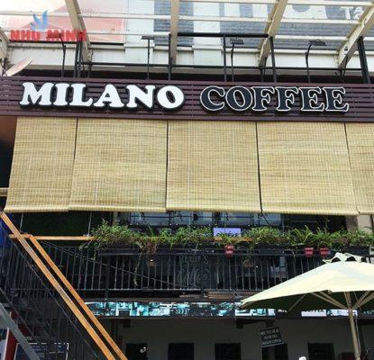 MILANO một thương hiệu cà phê nỗi tiếng.